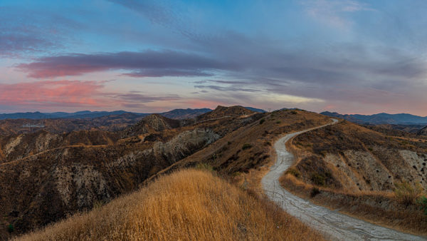 Haskell Canyon Open Space Sunrise